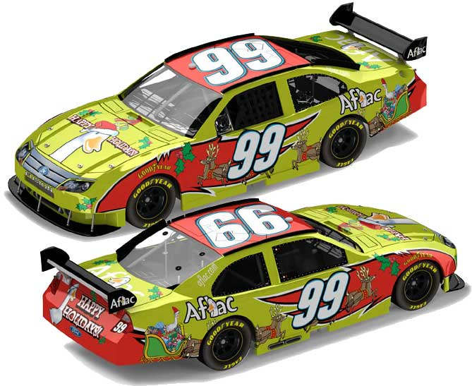 Carl Edwards 2009 Sam Bass Holiday Diecast