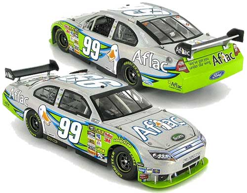 Carl Edwards 2010 Aflac Flash Coat Silver