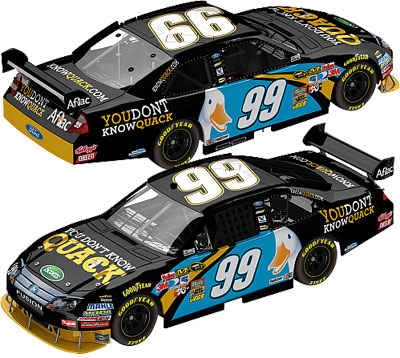 Carl Edwards Don't Know Quack Diecast