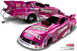 Courtney Force Traxxas Breast Cancer Awareness