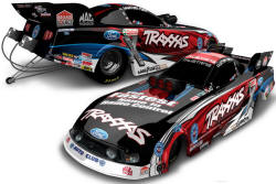 Courtney Force Traxxas funny car