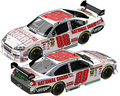 Dale Earnhardt Jr National Guard Flash Coat