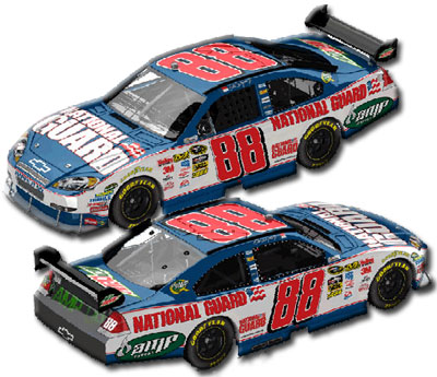 Dale Earnhardt Jr National Guard NASCAR Diecast