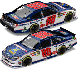 Dale Earnhardt Jr Military Intelligence