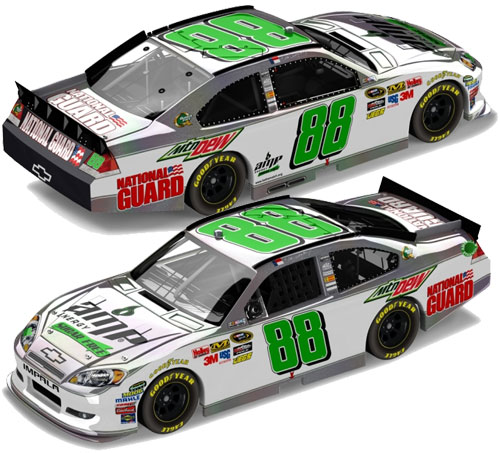 Dale Earnhardt Jr 2011 Sugar Free