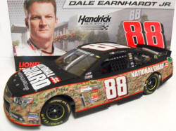 Dale Earnhardt Jr National Guard Camo Diecast