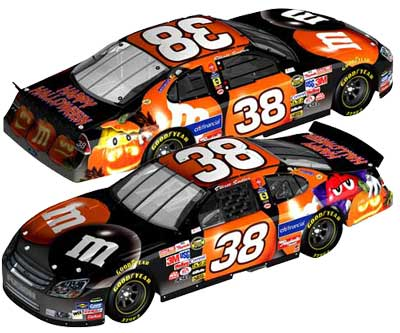 David Gilliland '06 M&M's Halloween NASCAR Diecast