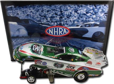 John Force 2010 25th Anniversary