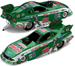 John Force 2011 Castrol GTX Funny Car