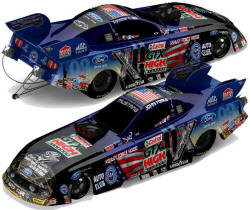 John Force 9-11 Memorial funny car
