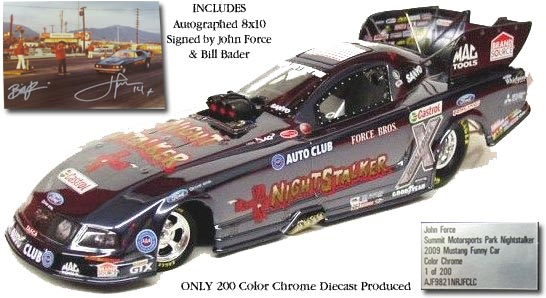 John Force Night Stalker NHRA Diecast
