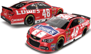 Jimmie Johnson Lowes Red Vest NASCAR