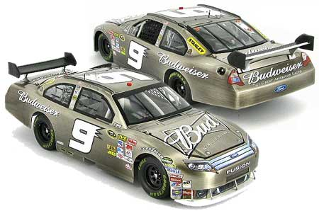 Kasey Kahne 2010 Bud Brushed Metal