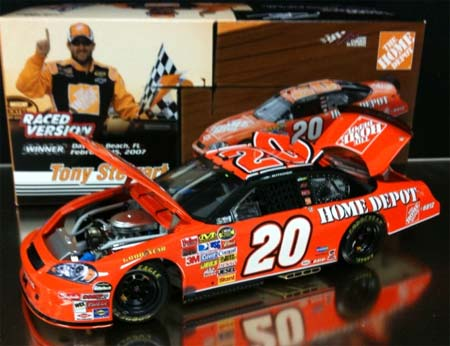 Tony Stewart 2007 Daytona Winner Raced Version