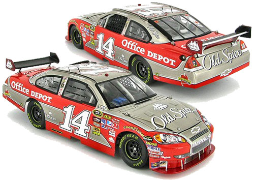 Tony Stewart 2010 Old Spice Brushed Metal