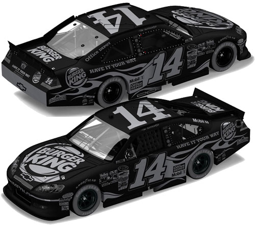 Tony Stewart 2011 Burger King Stealth