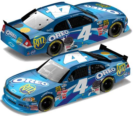 Tony Stewart 2011 Oreo Nationwide Diecast